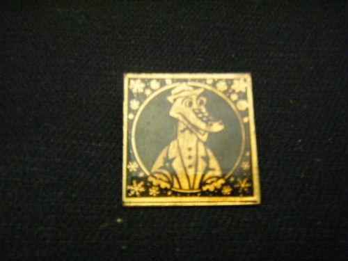 ゲーナの肖像 ピンバッチ 黒