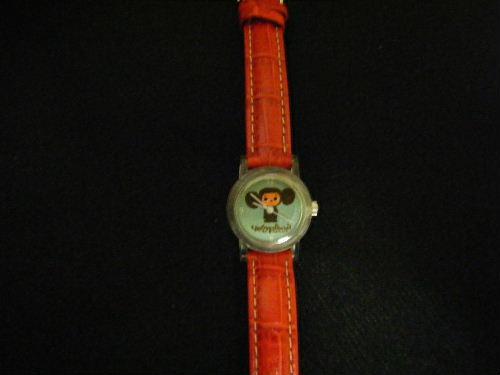 チェブラーシカの腕時計 赤 チェブ 限定品