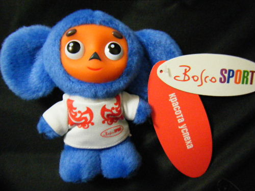 日本未発売 バンクーバーオリンピック 青 チェブラーシカ(白T)