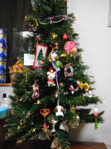 我が家のクリスマスツリー 2009