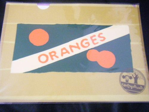 チェブラーシカ A4クリアファイルD イベント限定柄 オレンジ箱